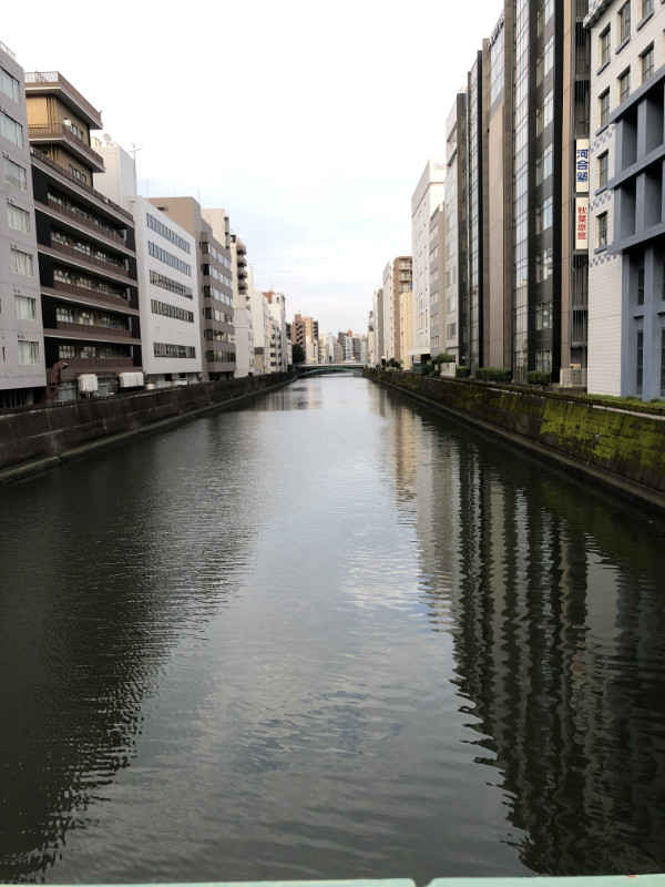 雨上がりの神田川